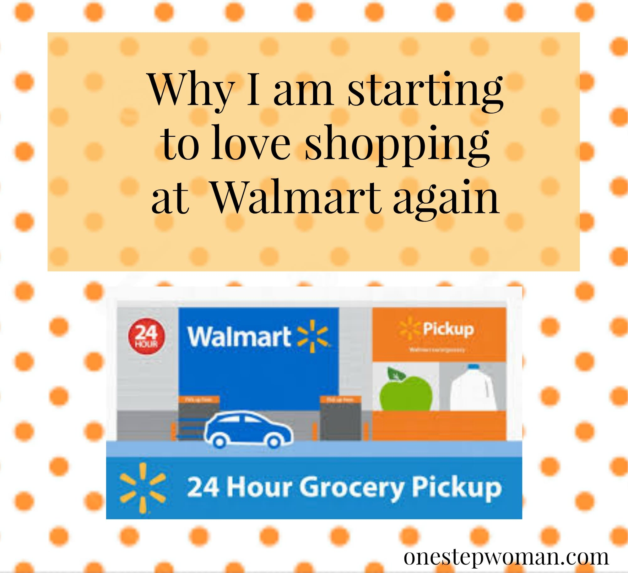 Why I am starting to love shopping at Walmart again